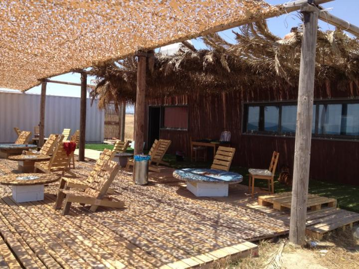 First kitesurfing spot in Cyprus